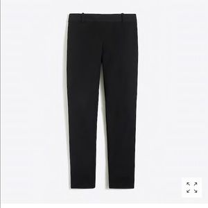 J Crew Lexie Black dress pant